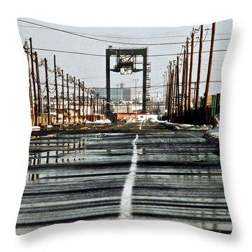 Elizabeth Nj Throw Pillow