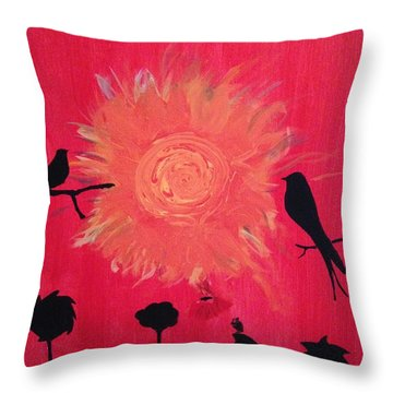 Elijah Throw Pillow
