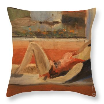 Elinor 1938 Throw Pillow
