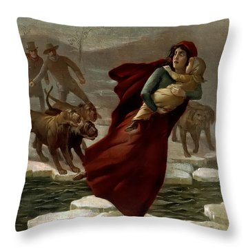 Elizas Escape Throw Pillow by Terry Reynoldson