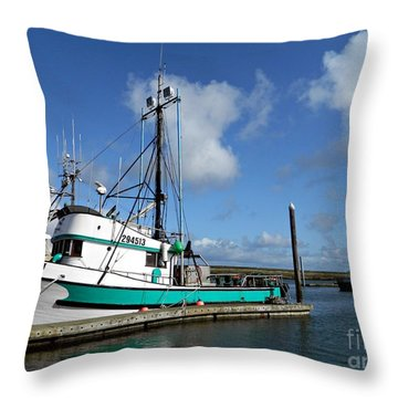 Ellie J 2 Throw Pillow by Chalet Roome-Rigdon