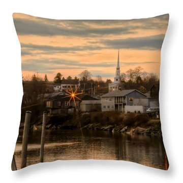 Ellsworth Sunset Throw Pillow