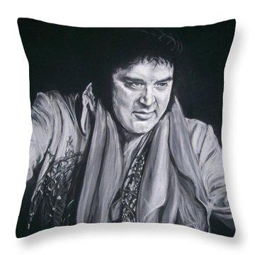 Elvis 1977 Throw Pillow