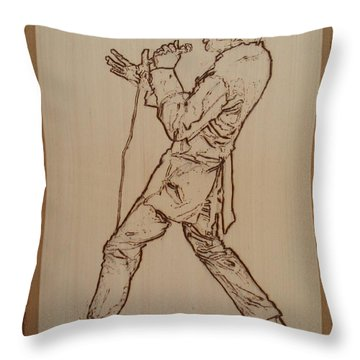 Elvis Presley - If I Can Dream Throw Pillow