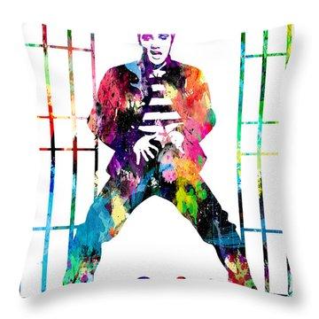 Elvis Presley Jail House Rock Throw Pillow