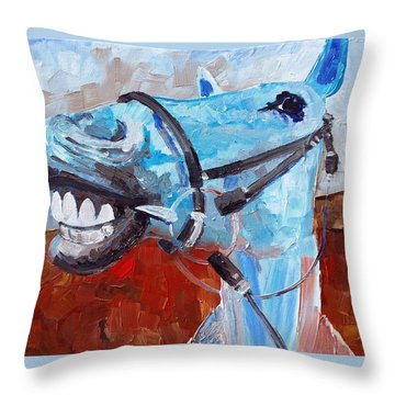 Elway Throw Pillow