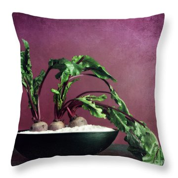 Embedded Throw Pillow by Priska Wettstein