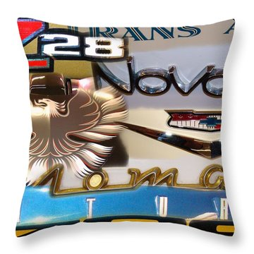 Emblem Power 2 Throw Pillow