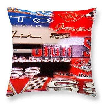 Emblem Power 6 Throw Pillow