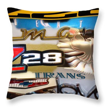 Emblem Power Throw Pillow