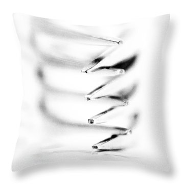 Embrace IIi Throw Pillow by Wade Brooks