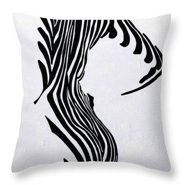 Embrace It  Throw Pillow