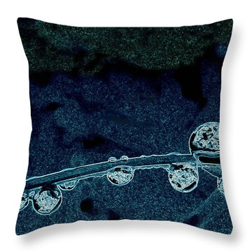Embryo Abyss Throw Pillow