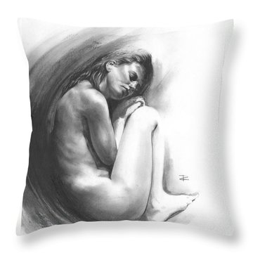 Embryonic 1 Throw Pillow