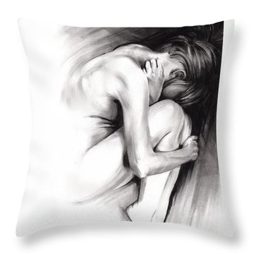 Embryonic IIi Throw Pillow