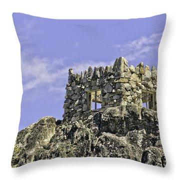 Emerald Bay Lake Tahoe Tea House Throw Pillow by LeeAnn McLaneGoetz McLaneGoetzStudioLLCcom