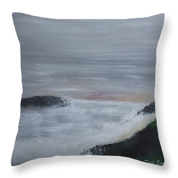 Emerald Isle Throw Pillow