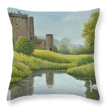 Emerald Isle Throw Pillow