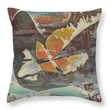 'emerge' Throw Pillow