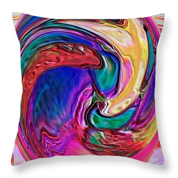 Emergence - Digital Art Throw Pillow