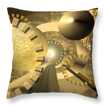 Emergence Throw Pillow