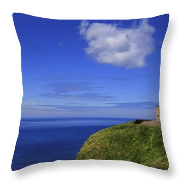 Emerging Castleland Throw Pillow