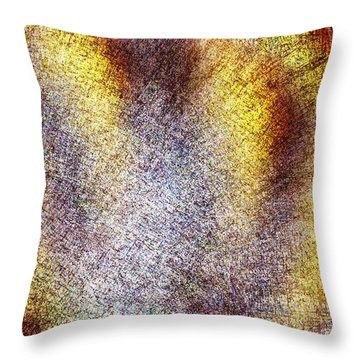 Emerging Throw Pillow by Christopher Gaston
