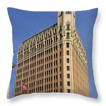 Emily Morgan Hotel Throw Pillow