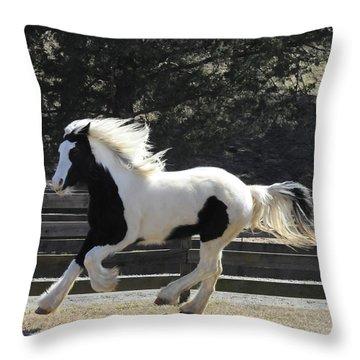 Emma So Graceful Throw Pillow