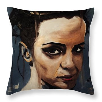 Emma Watson Throw Pillow