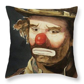 Sad Throw Pillows