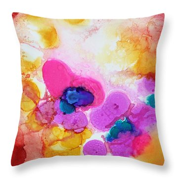 Emotion Throw Pillow by Tara Moorman