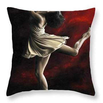 Emotional Awakening Throw Pillow