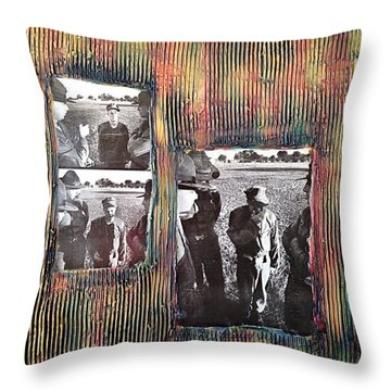 Emotional Breakdown By Alfredo Garcia Throw Pillow