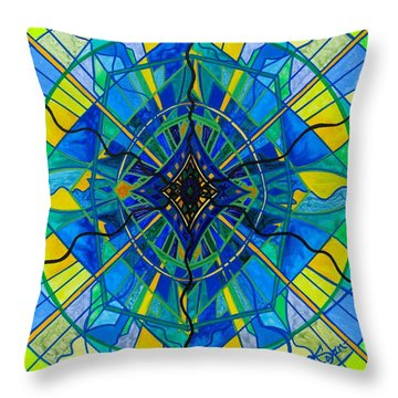 Emotional Expression Throw Pillow