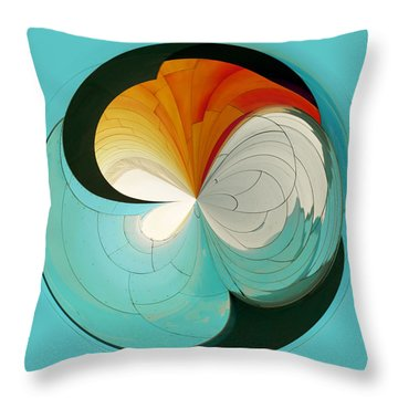Throw Pillow featuring the photograph Emp Inspired by Sonya Lang