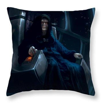 Emperor Palpatine Throw Pillow
