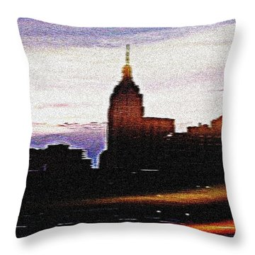 Empire In Effect Throw Pillow