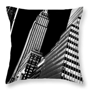 Empire Perspective Throw Pillow