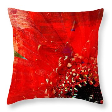 Empowerment Throw Pillow by Leanna Lomanski