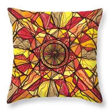 Empowerment Throw Pillow