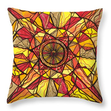 Empowerment Throw Pillow