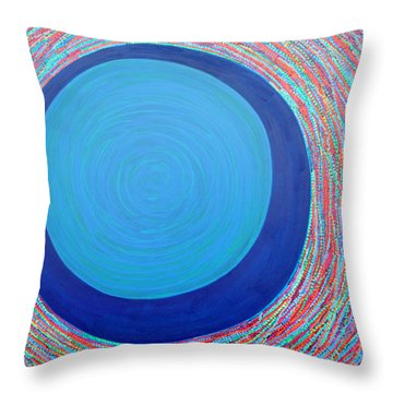 Empty Cup 2 Throw Pillow by Kyung Hee Hogg