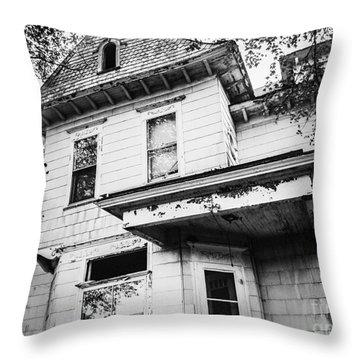 Empty House Throw Pillow