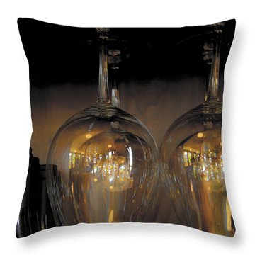 Empty Throw Pillow by Jean Noren