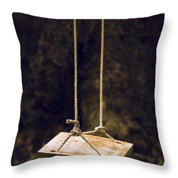 Empty Swing Throw Pillow