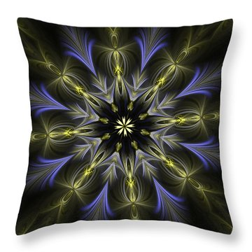 Enamored Mandala Throw Pillow