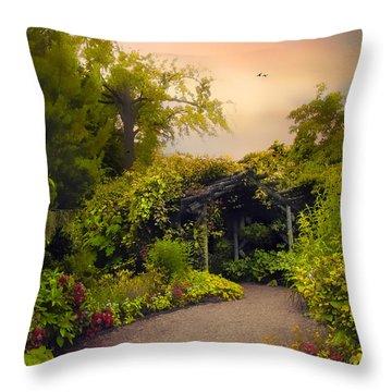 Enchanted Arbor Throw Pillow