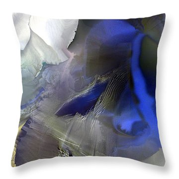 Enchanted Blues Throw Pillow