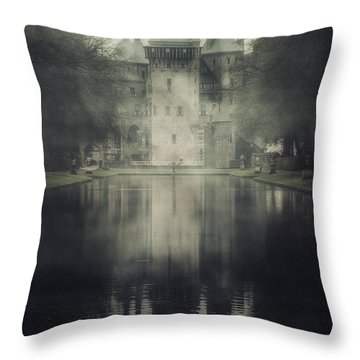 Enchanted Castle Throw Pillow by Joana Kruse
